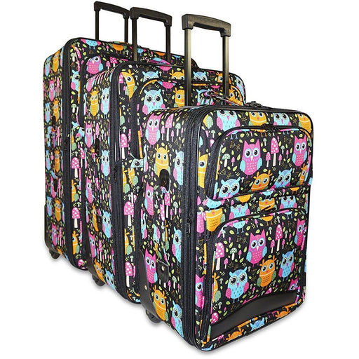 Owl Luggage Set - jenzys.com