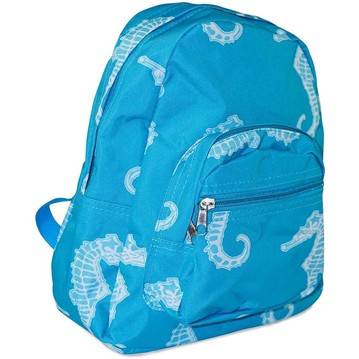 Seahorse Toddler Backpack - jenzys.com