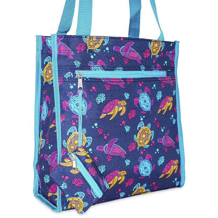 Ever Moda Sea Turtle Tote Bag - jenzys.com