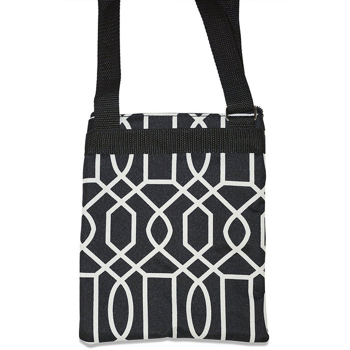 Ever Moda Geometric Cross-body Bag - jenzys.com