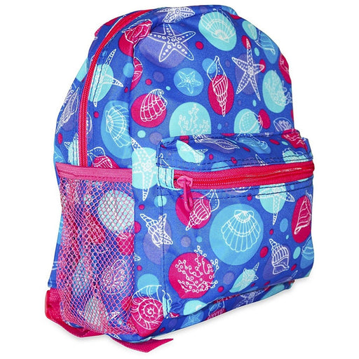 Ever Moda Sea Shell Toddler Backpack - jenzys.com