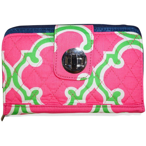 Moroccan Quilted Fabric Wallet