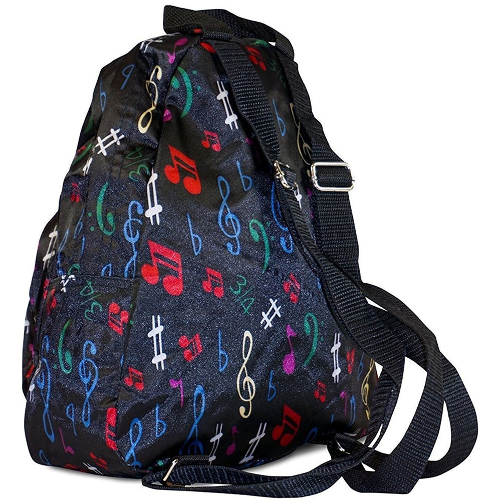 Music Notes Toddler Backpack - jenzys.com