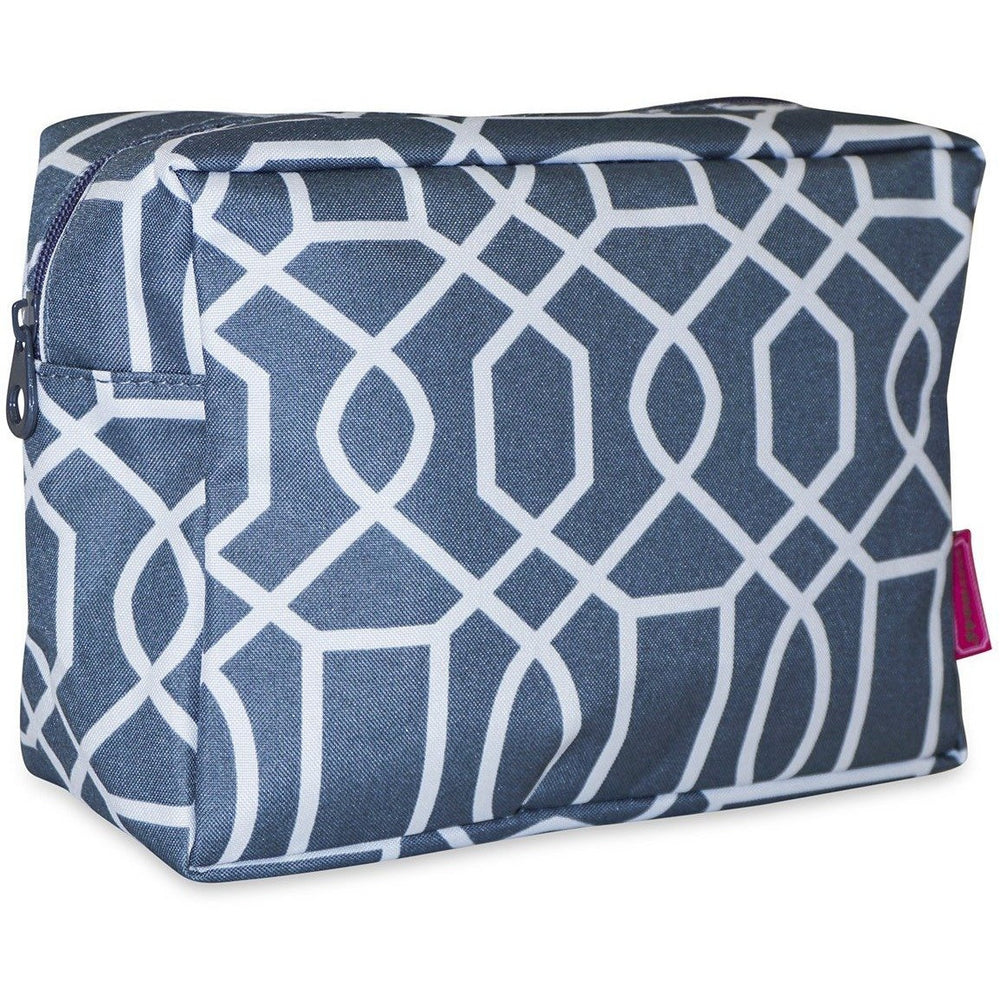 Ever Moda Geometric Cosmetic Pouch