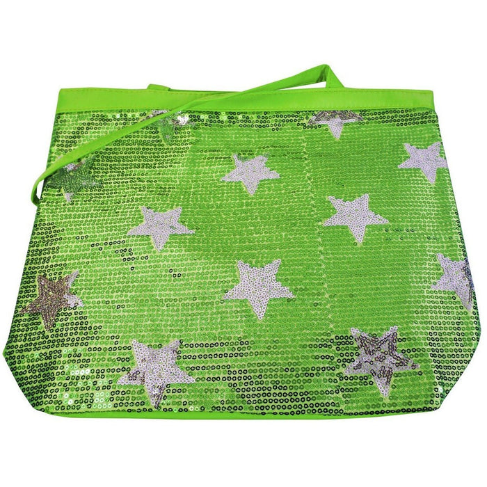 Lil Princess Sequin Stars Dance Tote Bag - jenzys.com