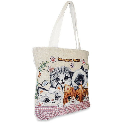 Cat Tapestry Tote Bag - jenzys.com