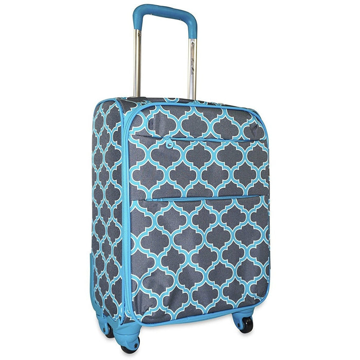 Ever Moda Moroccan 360 Spinner Carry On - jenzys.com