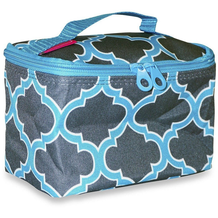 Ever Moda Quatrefoil Makeup Bag - jenzys.com