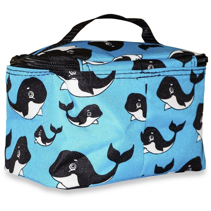 Ever Moda Whale Makeup Bag
