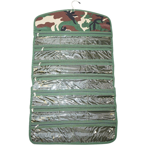 Ever Moda Camo Jewelry Organizer Bag - jenzys.com