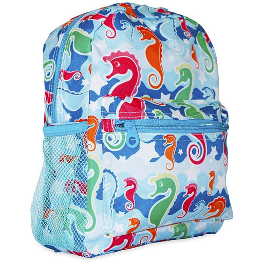 Ever Moda Seahorse Toddler Backpack - jenzys.com