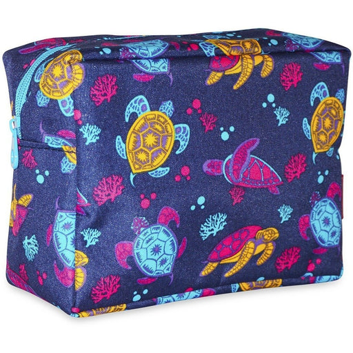Ever Moda Sea Turtle Cosmetic Pouch - jenzys.com