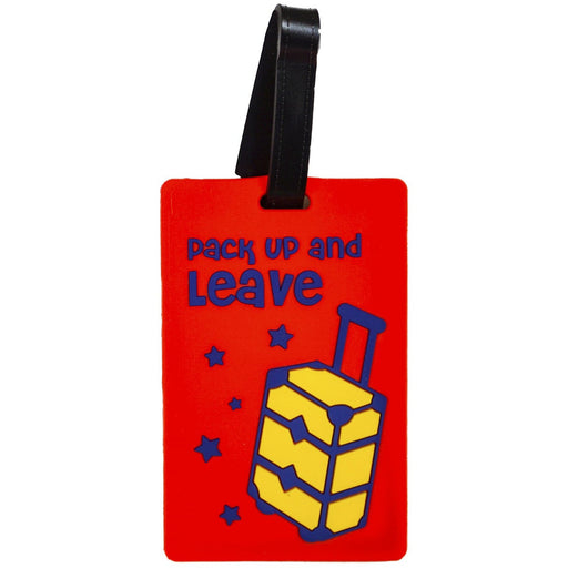 Pack Up and Leave Luggage Tag - jenzys.com