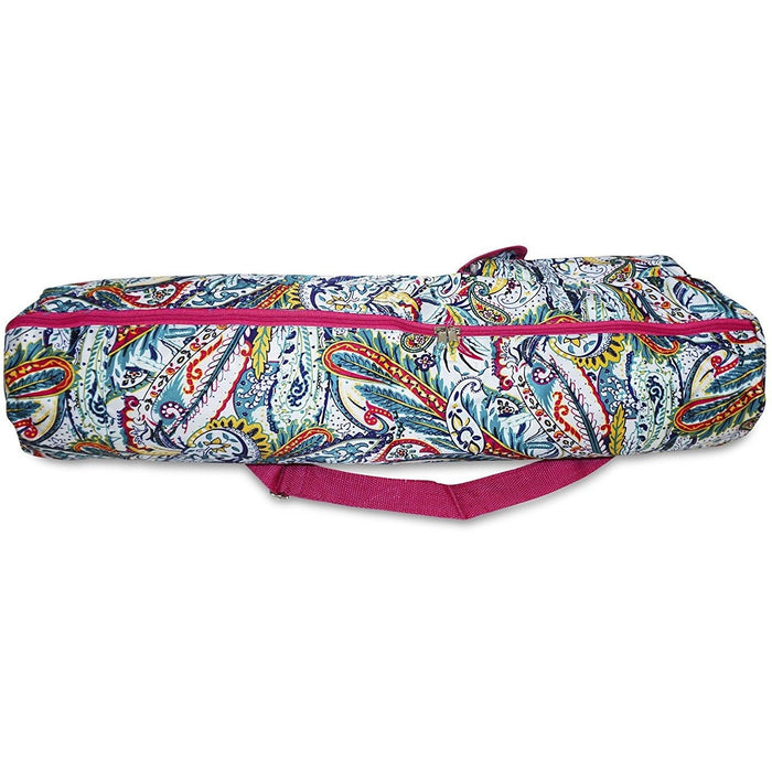 Paisley Yoga Gym Bag - jenzys.com