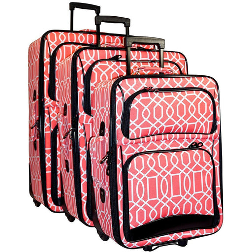 Geometric Luggage Set - jenzys.com