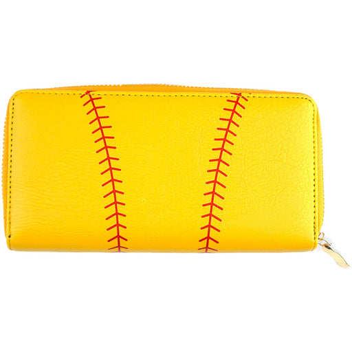 Softball Print Wallet - jenzys.com