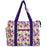 Jenzys Peace and Love Shopping Tote Bag - jenzys.com