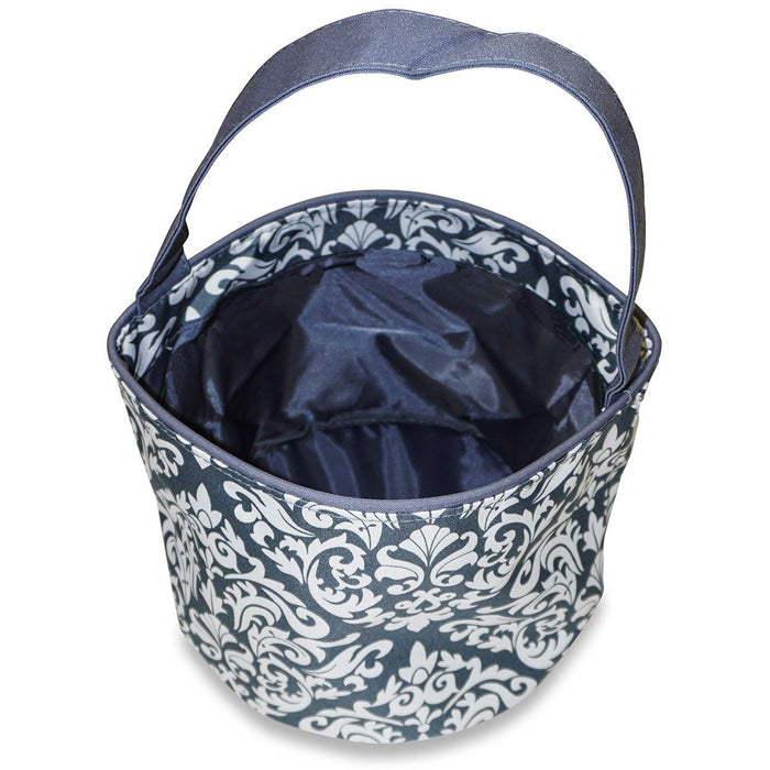 Damask Flower Girl Basket