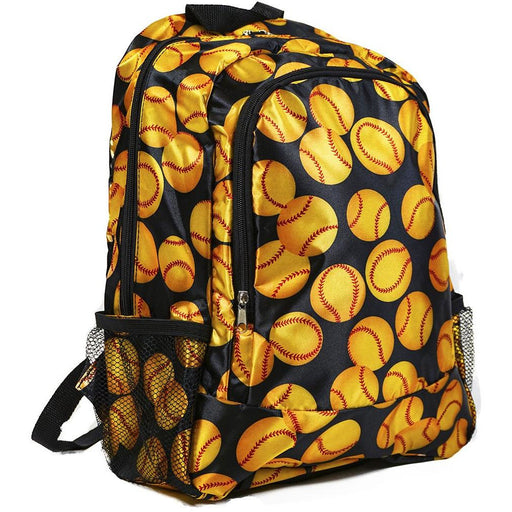 Girls Softball Backpack - jenzys.com