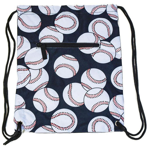 Baseball Drawstring Backpack - jenzys.com