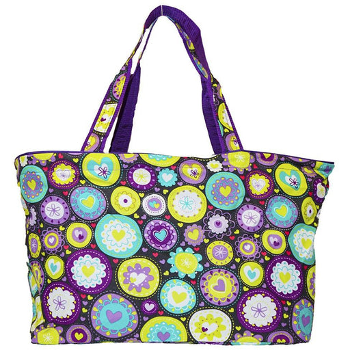 Ever Moda Hearts Tote Bag - jenzys.com