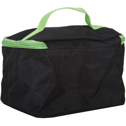 Black Canvas Cosmetic Bag - jenzys.com