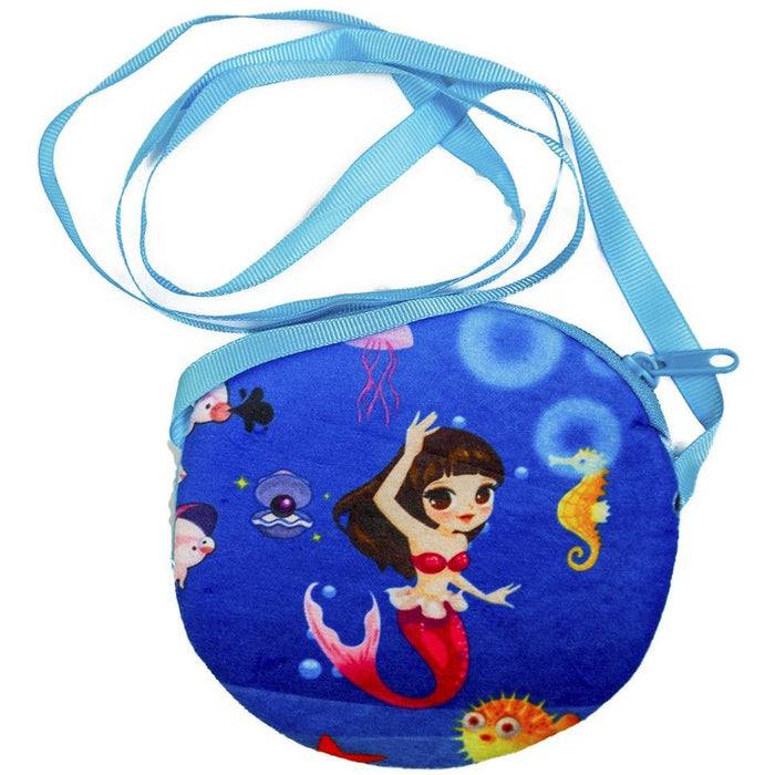 Mermaid Sea Life Coin Purse - jenzys.com