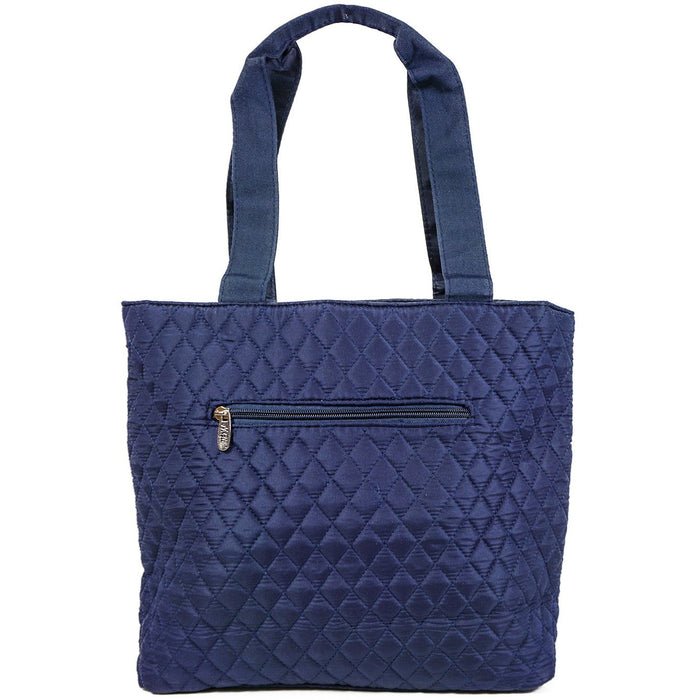 NGil Solid Quilted Diaper Bag