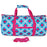 Diamond Print Duffel Bag