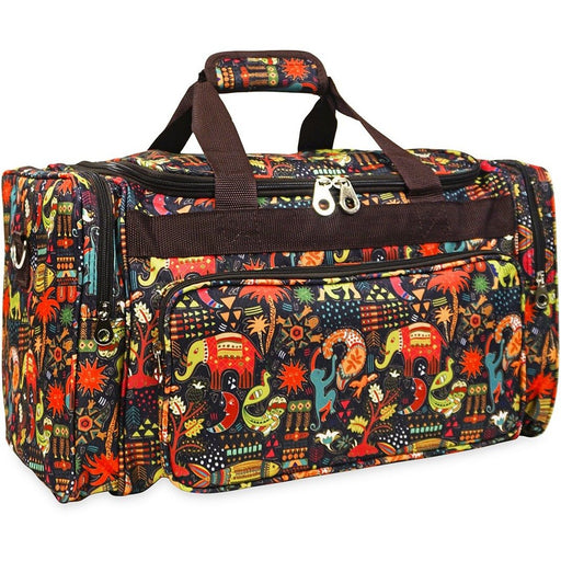 Jenzys Aztec Jungle Duffel Bag - jenzys.com