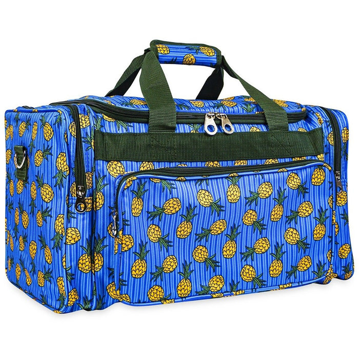 Jenzys Pineapple Duffel Bag - jenzys.com