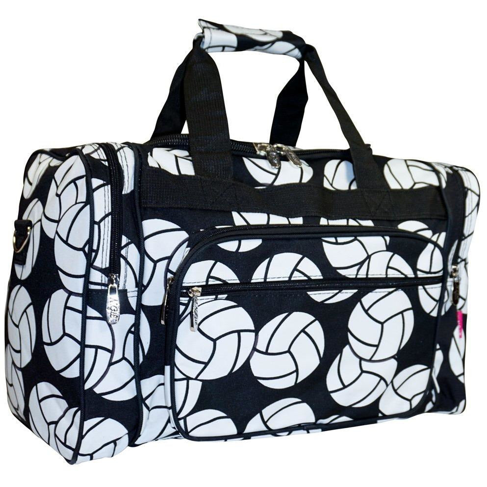 NGIL Volleyball Print Duffel Bag - jenzys.com