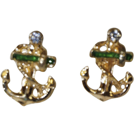 Anchor Stud Earrings - jenzys.com