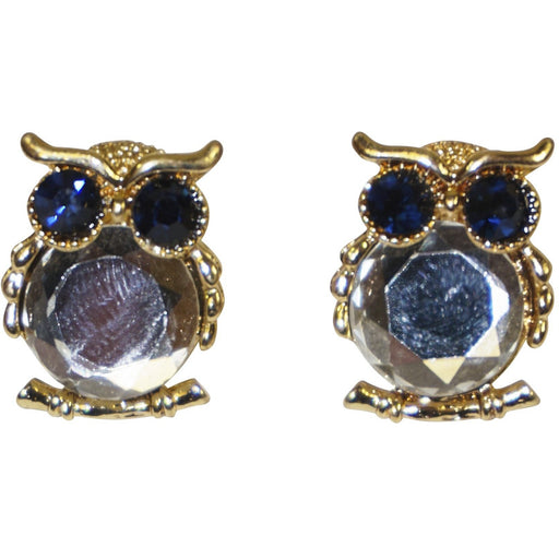 Blue Owl Earrings - jenzys.com