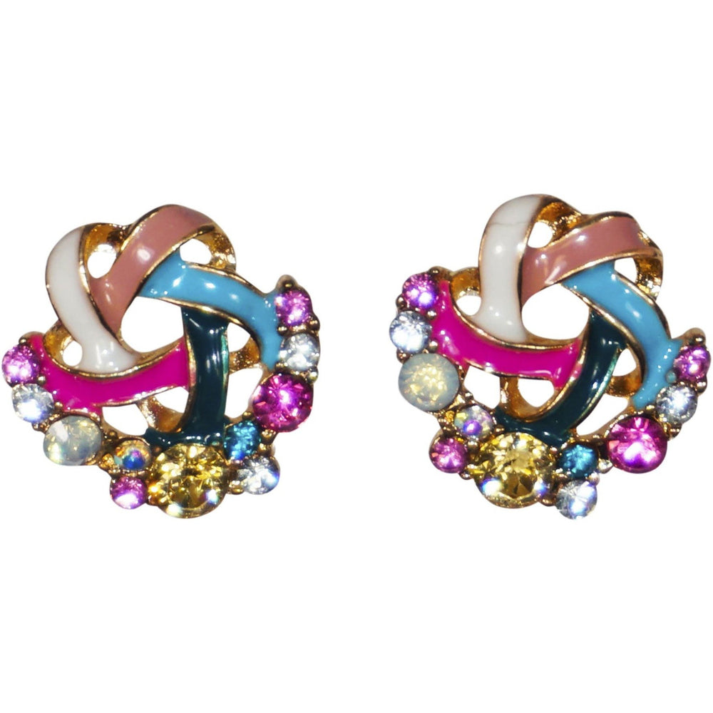 Pink Ribbon Earrings - jenzys.com