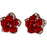 Red Rose Earrings - jenzys.com