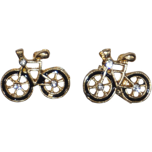 Bicycle Stud Earrings - jenzys.com