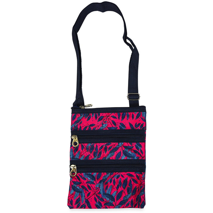 Jenzys Leaves Cross Body Bag - jenzys.com