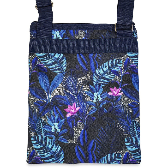 Jenzys Tropical Leaves Cross Body Bag - jenzys.com
