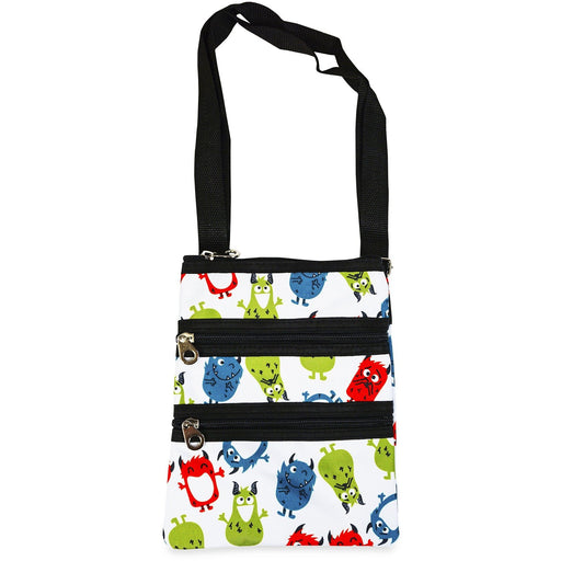 Jenzys Cute Monsters Cross Body Bag - jenzys.com