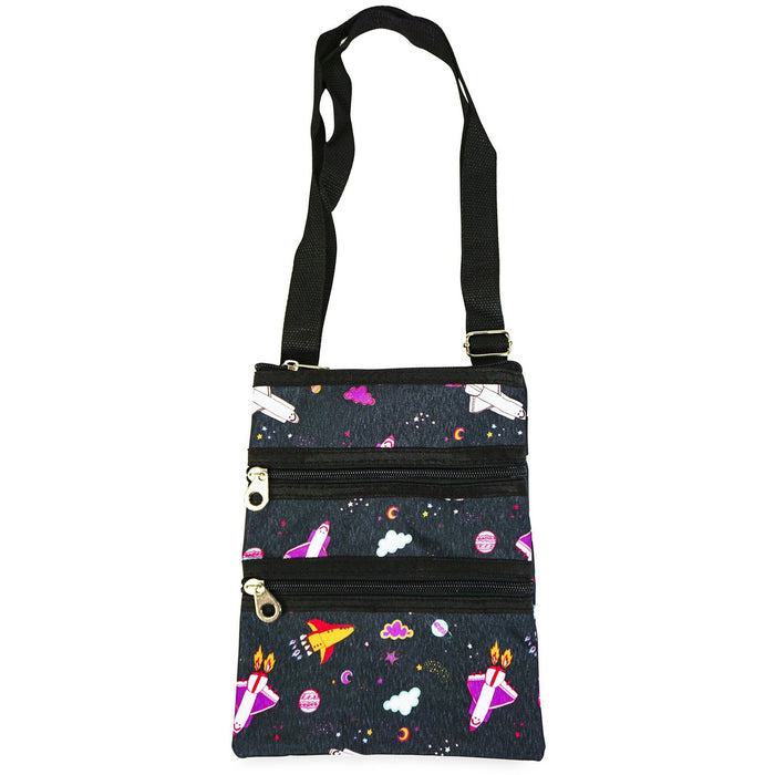 Jenzys Outer Space Cross Body Bag - jenzys.com