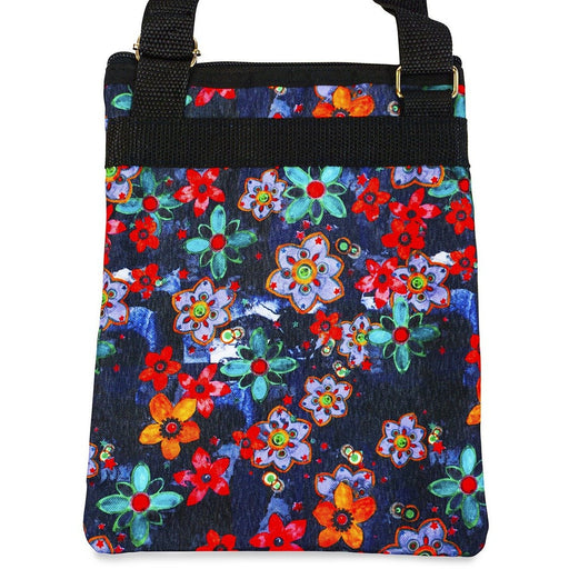 Jenzys Retro Floral Cross Body Bag - jenzys.com