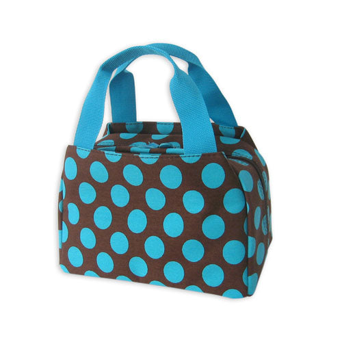 Polka Dot Lunch Bag