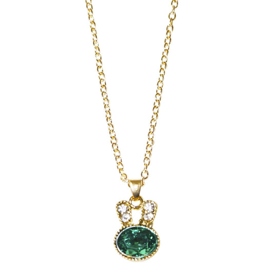 Rhinestone Rabbit Necklace - jenzys.com