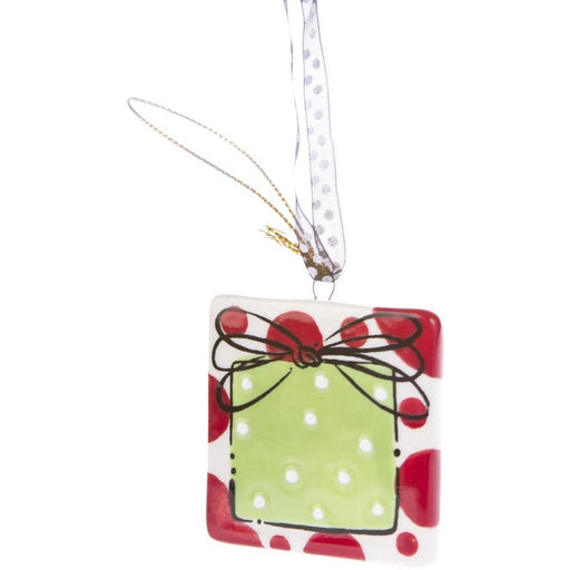 Christmas Holiday Present Necklace