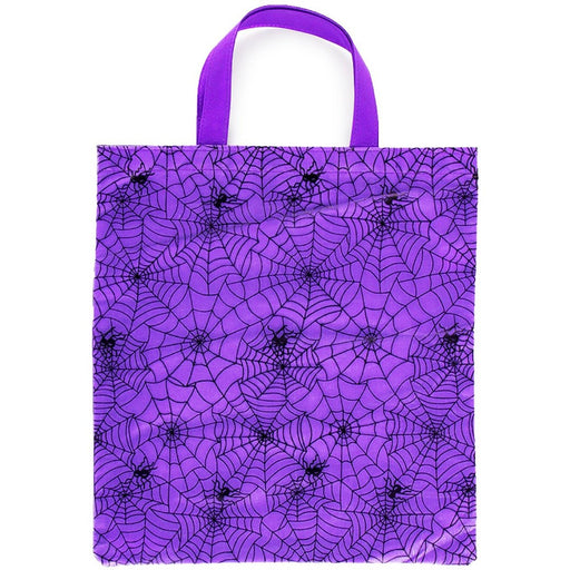 Halloween Spider Web Trick or Treat Tote Bag - jenzys.com