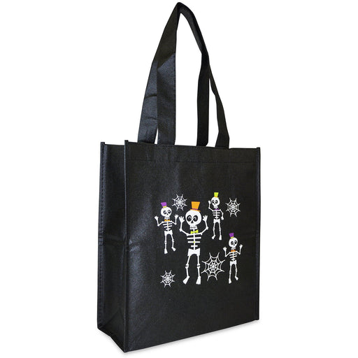 Skeletons Trick or Treat Tote Bag - jenzys.com