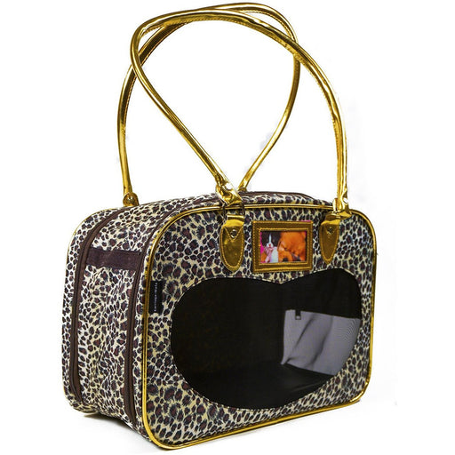 Leopard Pet Carrier Purse - jenzys.com