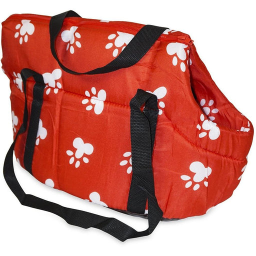 Paw Print Pet Carrier Purse