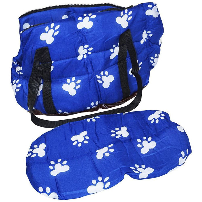 Paw Print Pet Carrier Purse - jenzys.com